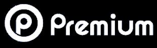 Logo blanc premium
